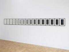 Philip Loersch – Über Bleistifte (F-C 6H bis 8B), 2013/14