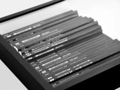 Philip Loersch – Über Bleistifte (61 schwarz), 2013