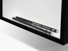 Philip Loersch – Über Bleistifte (5 schwarz). 2013