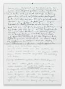 Philip Loersch – Notat (unscharf), 2012